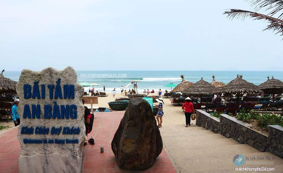 Bãi tắm biển An Bàng - Hội An