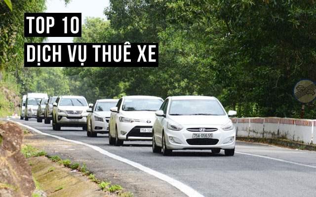 Top 10 dịch vụ thuê xe tại Hội An