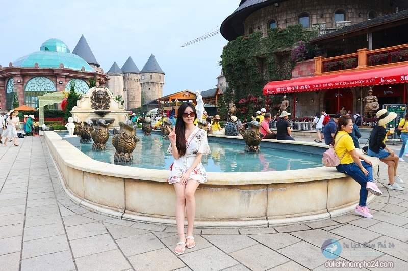 Du lịch Đà Nẵng nên dành 1 ngày để khám phá hết khu du lịch Bà Nà Hills