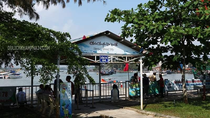 Bến cảng Cửa Đại đi Cù Lao Chàm