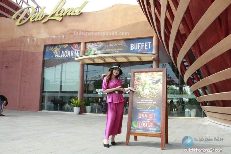 Nhà hàng Buffet tại Vinpearl Land Nam Hội An