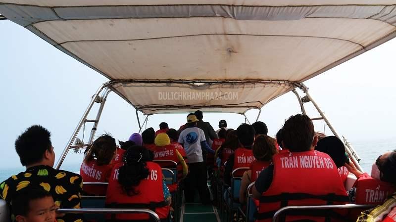 Cano cao tốc ra đảo Cù Lao Chàm