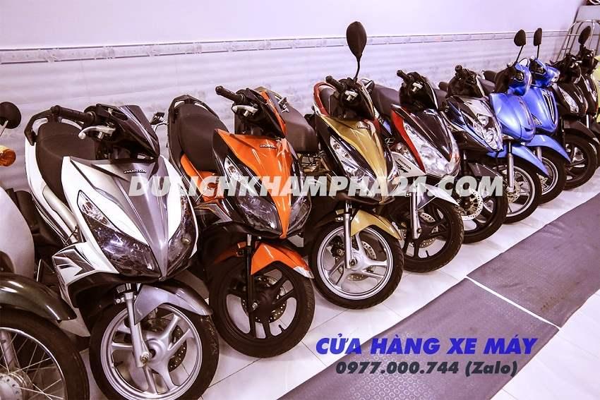 Cho thuê xe máy Đà Nẵng