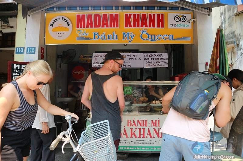 Du lịch Hội An – Thưởng thức bánh mỳ MADAM KHÁNH