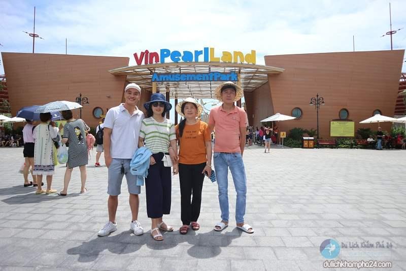 Cổng vào khu du lịch Vinpearl Land Nam Hội An