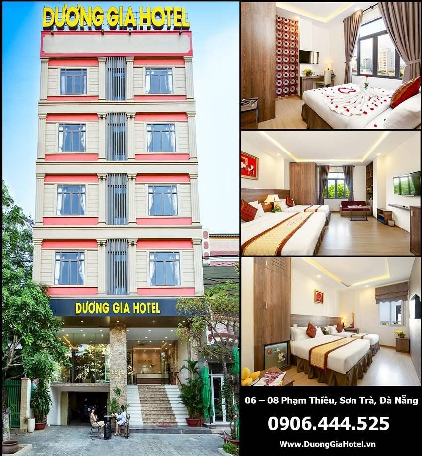 Khách sạn Dương Gia Đà Nẵng3 Sao giá rẻ vị trí đẹp