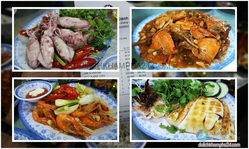Du lịch Đà Nẵng nên lựa chọn ăn uống tại Hải Sản Năm Đảnh