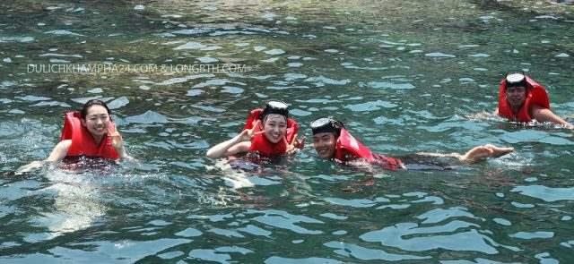 Lăn ngắm san hô Cù Lao Chàm