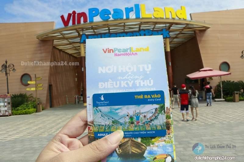 Vé vào Vinpearl Land